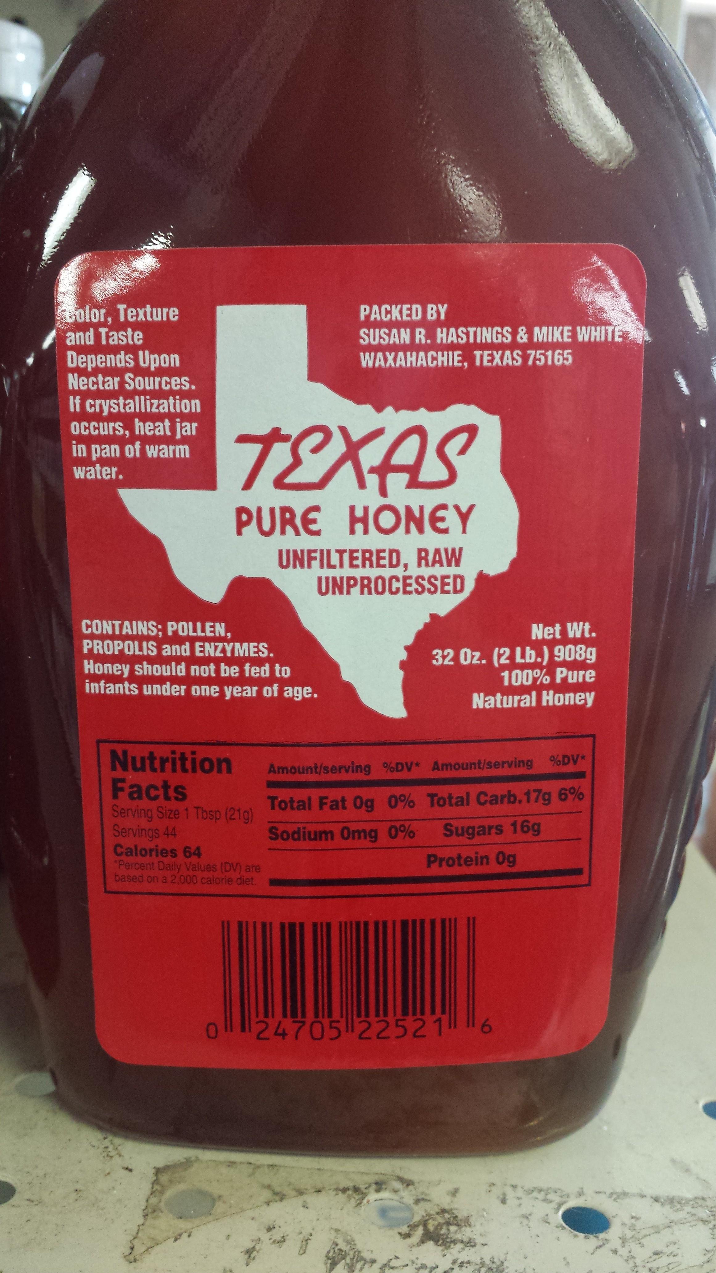Texas Pure Honey