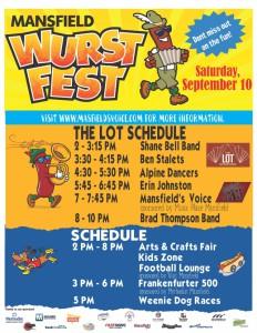 Mansfield Wurstfest