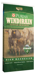 cattle minerals wind and rain high magnesium