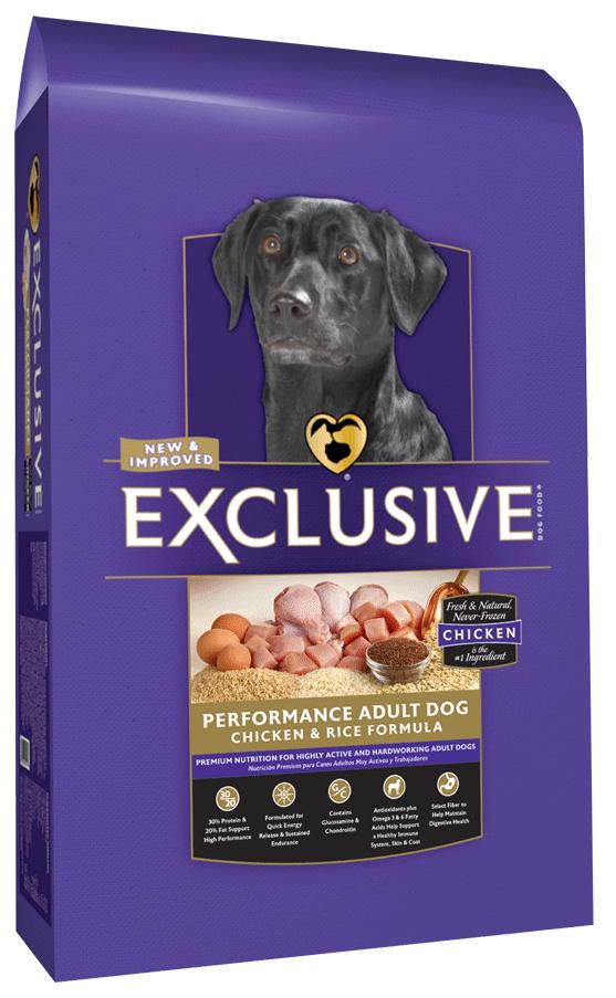 purina exclusive pet food adult chicken and riceexclusiveperformance